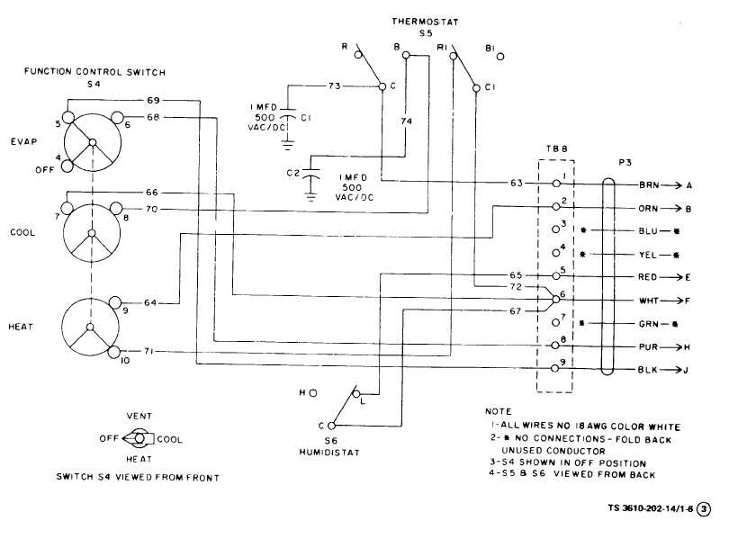 figure 1 6 air conditioner wiring diagram sheet 3 of 3
