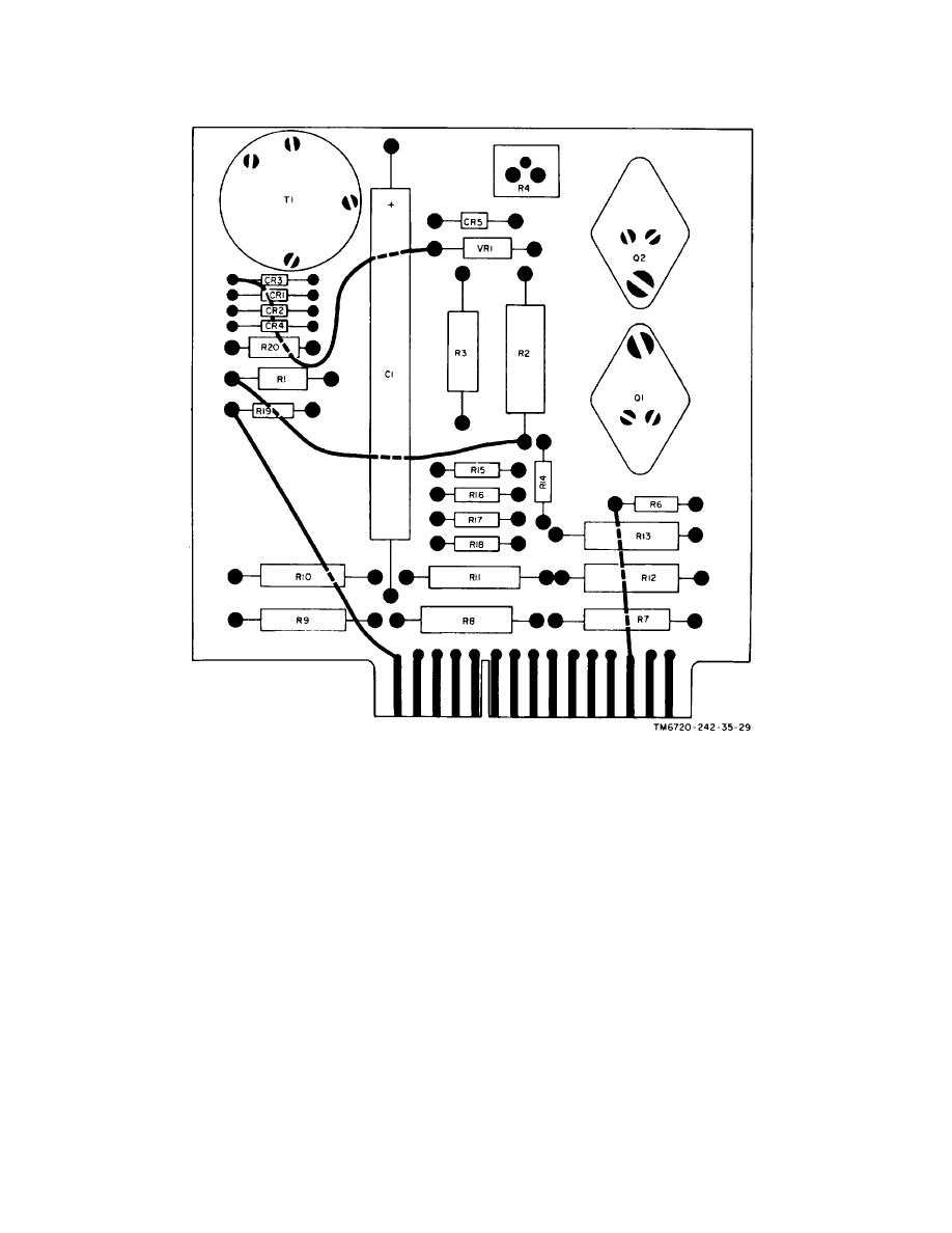 figure 6 h board assembly wiring diagram  front view