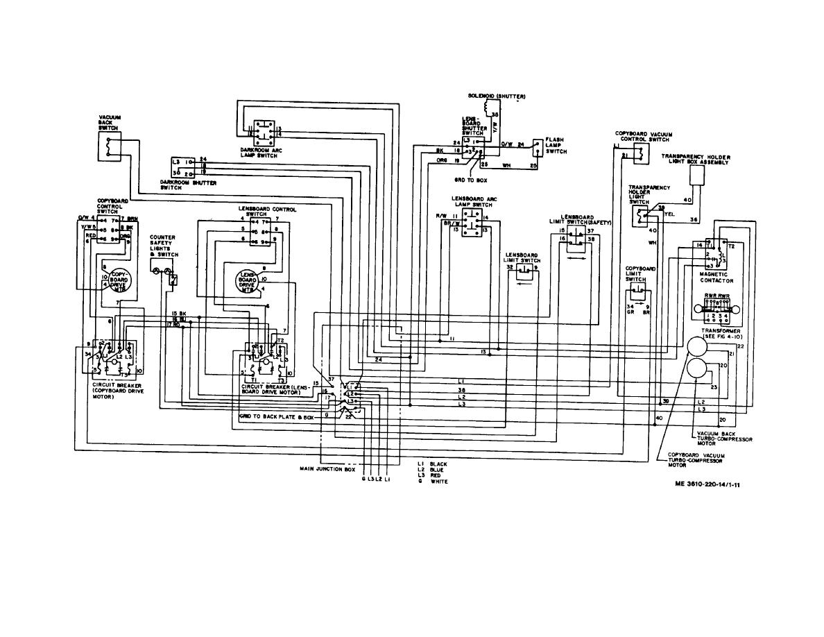 Figure 1 11 Copying Camera Schematic Wiring Diagram Electrical Switch And