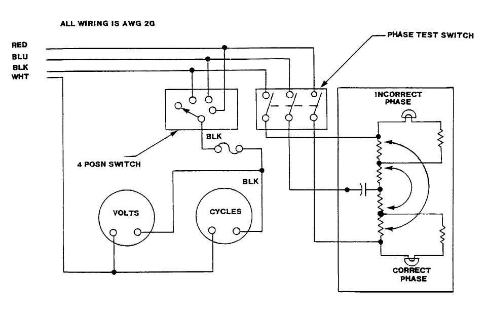 fo 2 phase monitor meter wiring diagram rh photographymanuals tpub com 2 phase wiring schematic 2 phase wiring diagram